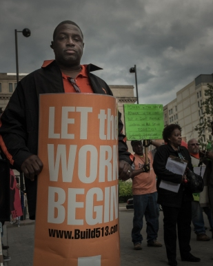Paul Davis | 2014 May Day march