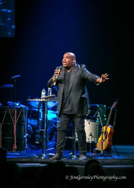 "John Gray reminds conference attendees, ""People are hurting. They need hope."" Photo courtesy of Jim Gormley."