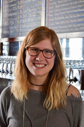 Alexandra Frederick has tended bar at Liberty's Bar and Bottle since it opened in 2014.