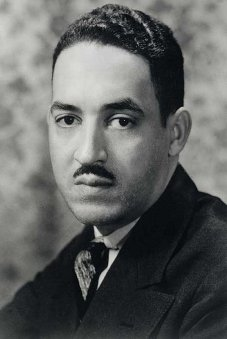 Photo of Thurgood Marshall taken in 1936 at the beginning of his work with NAACP. It is believed that the use of this image may qualify as fair use under United States copyright law.