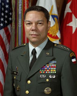 General Colin Powell of the United States Army in April 1989, as the Commander of FORSCOM. Public domain photo.