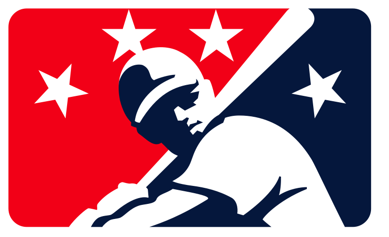 This is a logo for Minor League Baseball. It is believed that the use C4AD's use of this logo may qualify as fair use under copyright law of the United States.