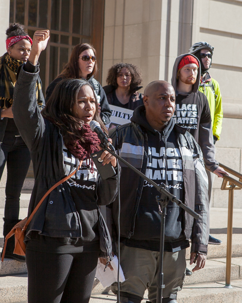 Black Lives Matter Cincinnati and Countdown to Conviction rally