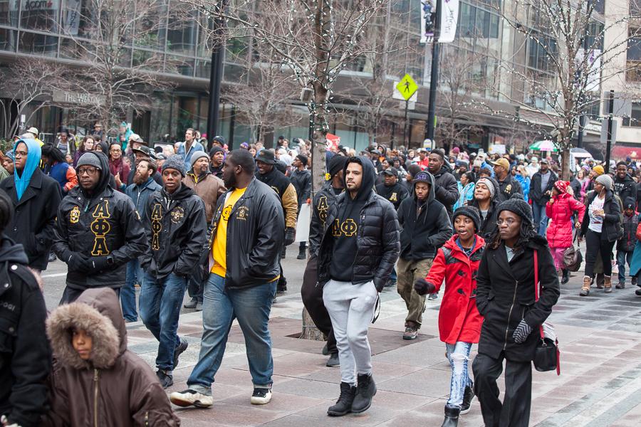 2017 Cincinnati MLK march